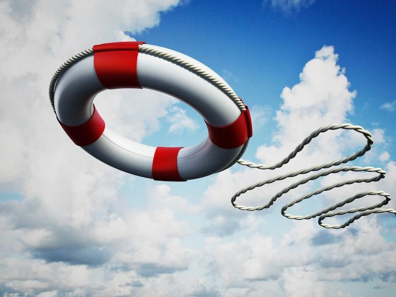 Rettungsring in der Corona Krise