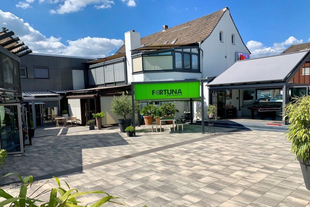 Fortuna Wintergarten Langenfeld - L'felder - Aussenansicht Eingang