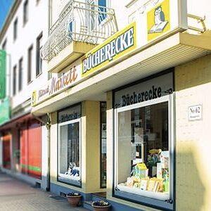 Buecherecke Hiltrud-Markett Langenfeld Aussenansicht