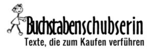Buchstabenschubserin - Ihre Werbetexterin aus Langenfeld Logo