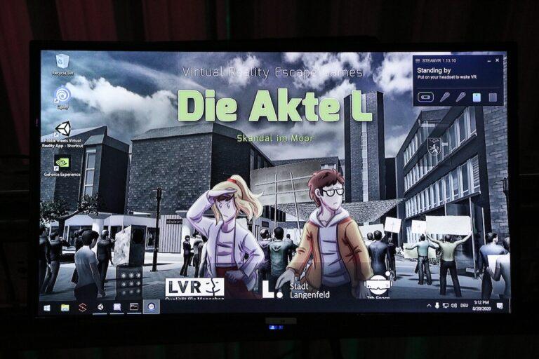 Die Akte L - VR in Langenfeld Desktop