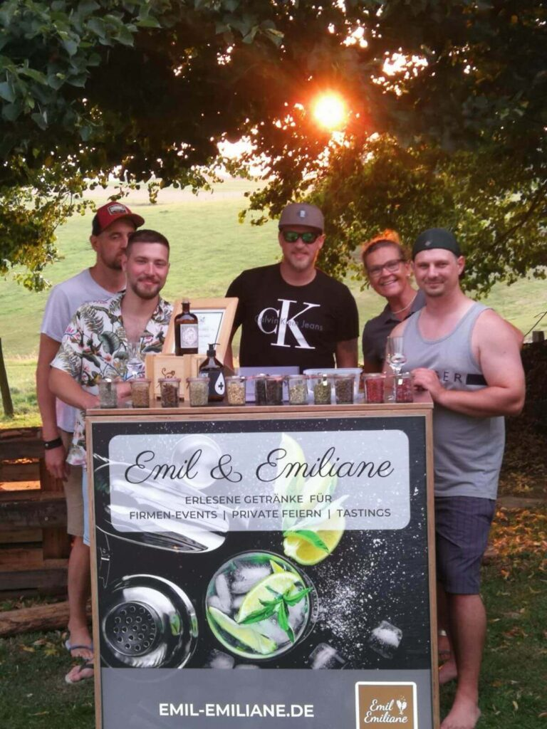 Emil & Emiliane Firmen Events Tastings Private Feiern in Langenfeld