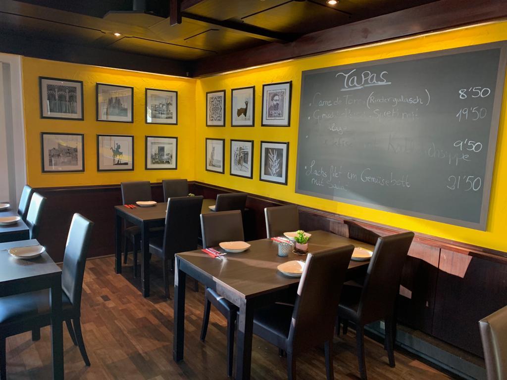 El Tapeo Tapas Bar und Restaurant Langenfeld - Gastraum