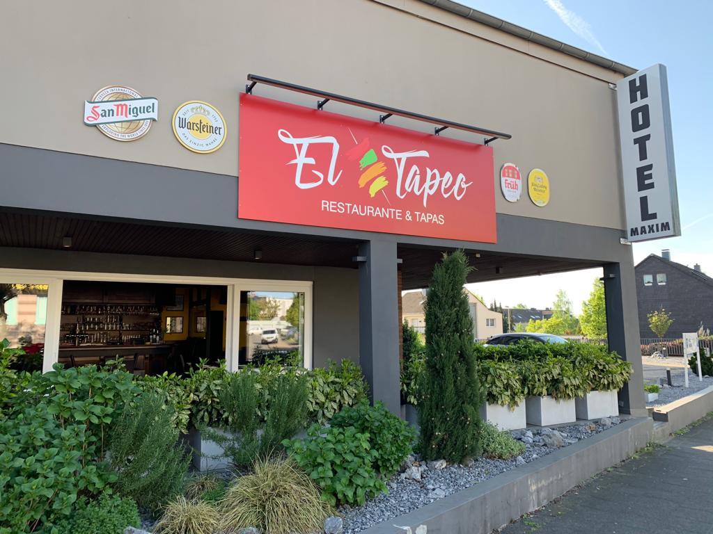 El Tapeo Tapas Bar und Restaurant Langenfeld - Eingang