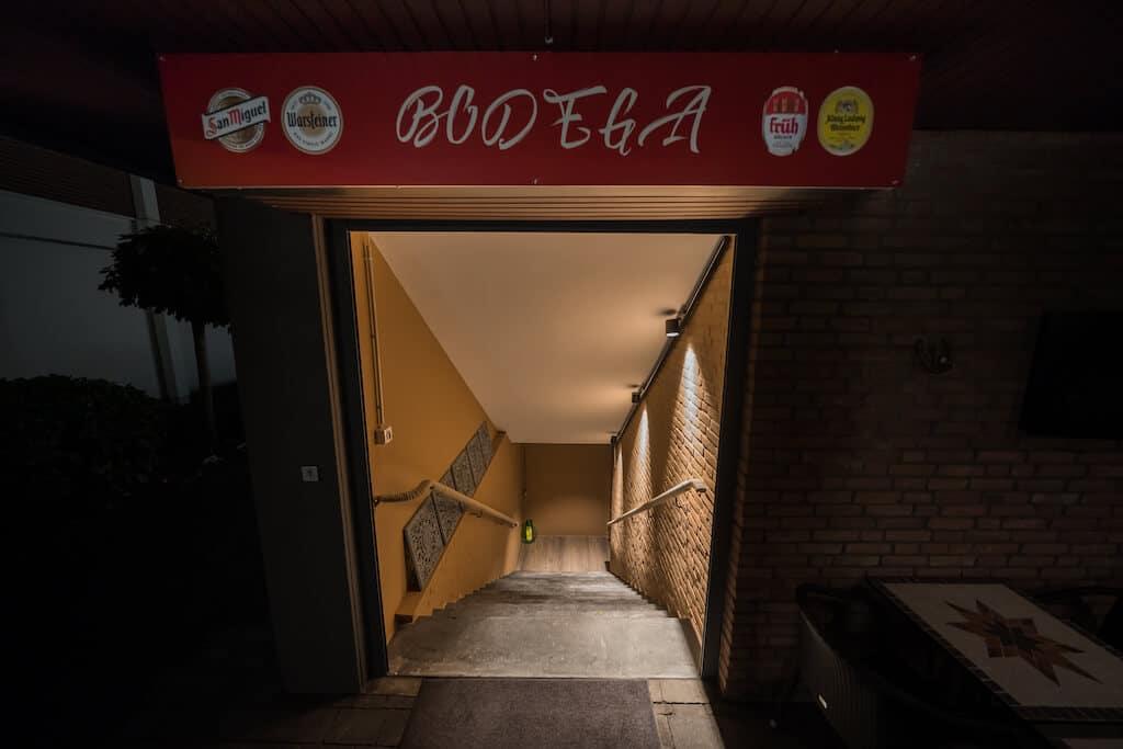 El Bodega – Tapas Bar & Event Location Langenfeld - Eingang