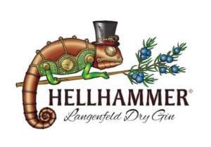 Hellhammer Langenfeld Dry Gin - qualitativ hochwertiger Gin Logo
