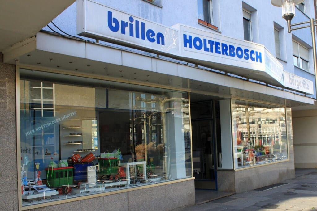 Holterbosch Sehen und Hören - Ihr Hörakustiker in Langenfeld Aussenansicht