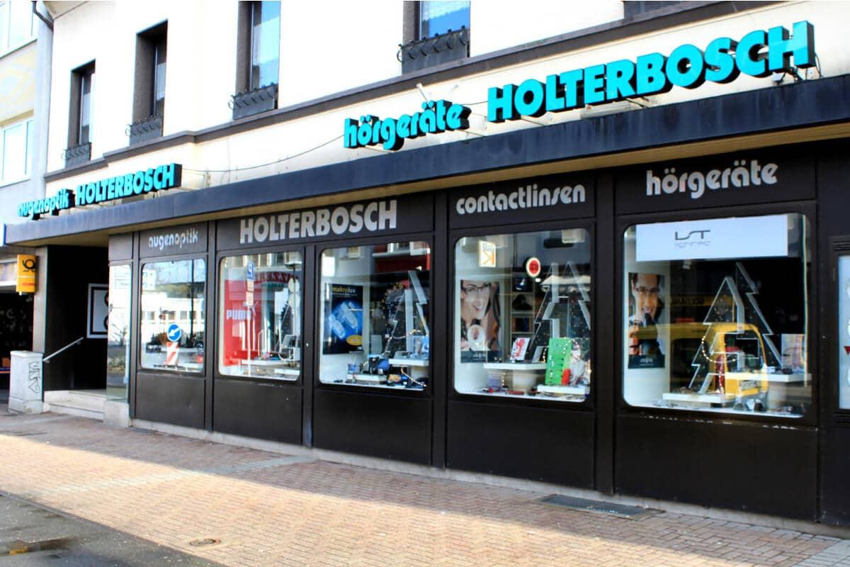 Holterbosch Sehen und Hören - Ihr Optiker in Langenfeld Aussenansicht