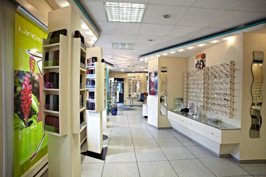 Holterbosch Sehen und Hören - Ihr Optiker in Langenfeld Verkaufsraum