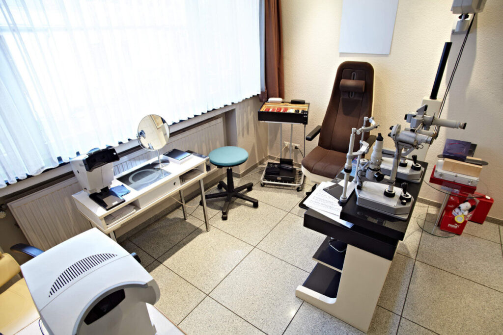 Holterbosch Sehen und Hören - Ihr Optiker in Langenfeld Sehtest