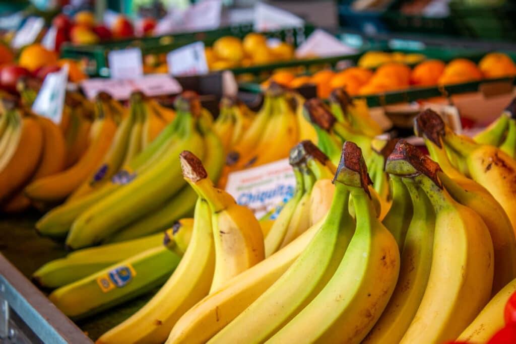 Marktstand Früchte Schultk Langenfelder Wochenmarkt Bild 12