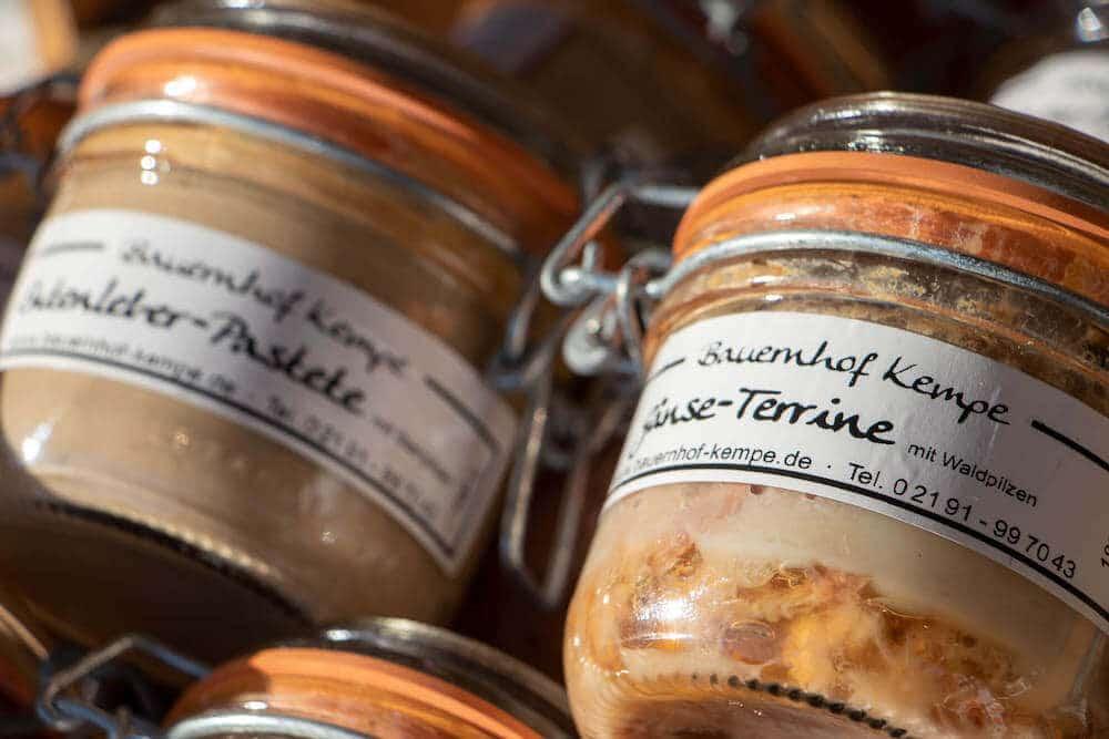 Marktstand Bauernhof Kempe Langenfelder Wochenmarkt