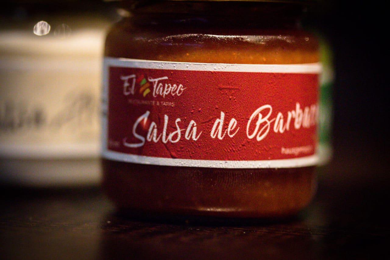 El TapeoDips für den spanischen Abend - Salsa de Barbecue