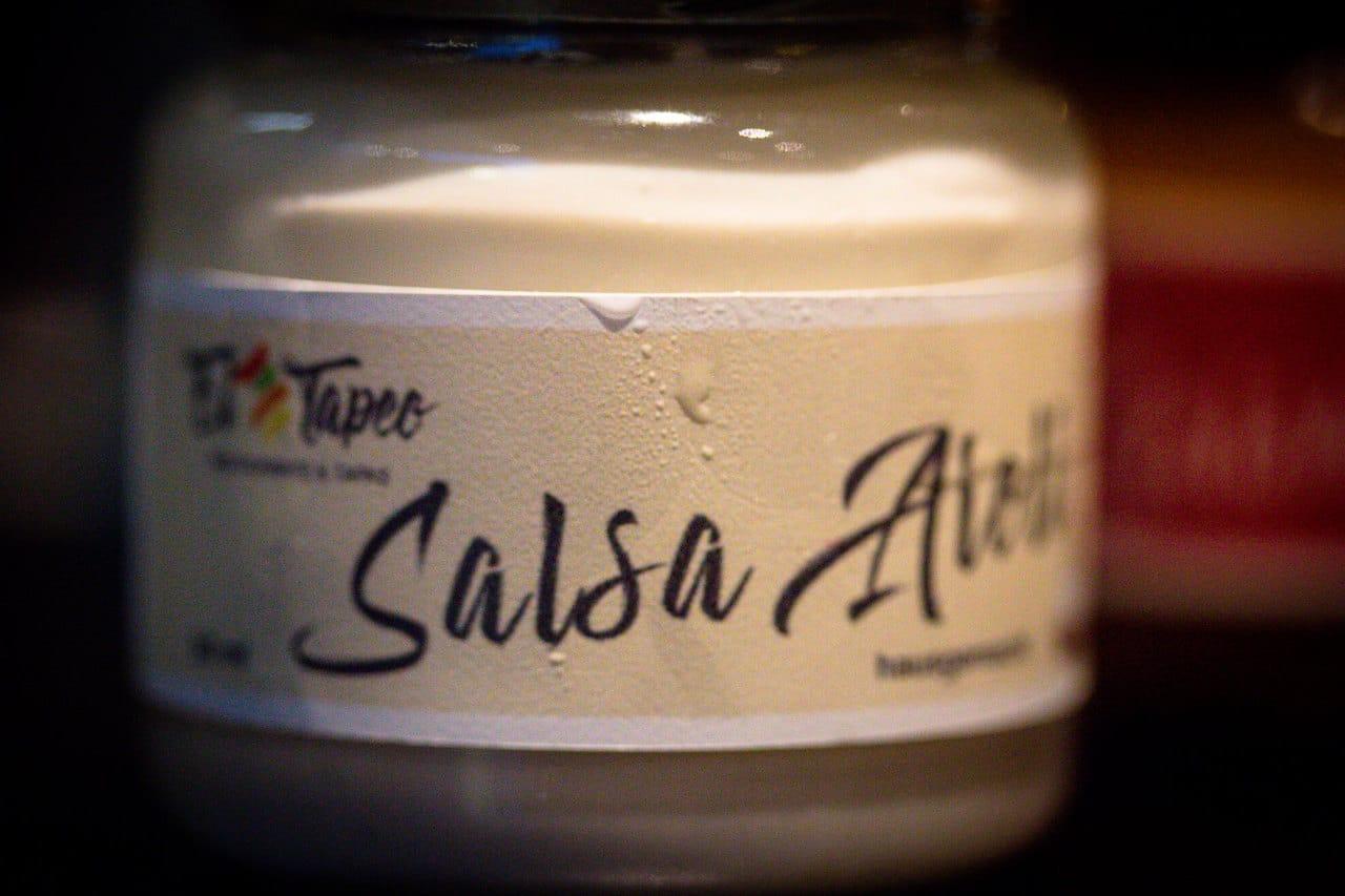 El TapeoDips für den spanischen Abend - Salsa de Aielo