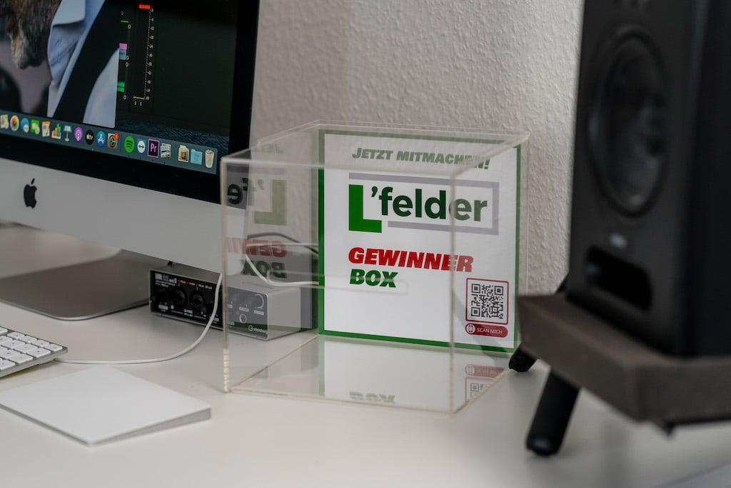 Toeller Service Webagentur in Langenfeld - Gewinnerbox L'felder