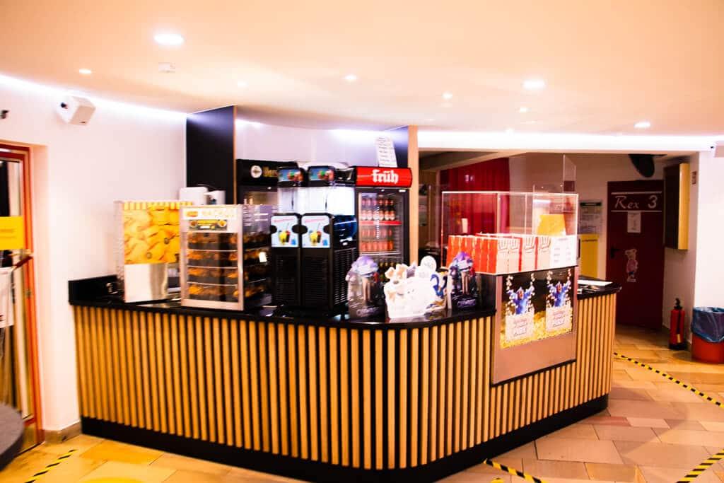 REX Kino Langenfeld - Kiosk Pop Corn Getränke