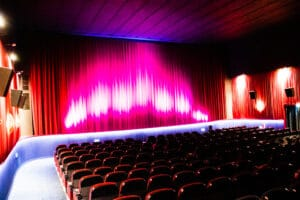REX Kino Langenfeld - Leinwand