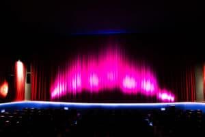 REX Kino Leinwand
