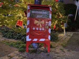 Briefkasten Weihnachtspost