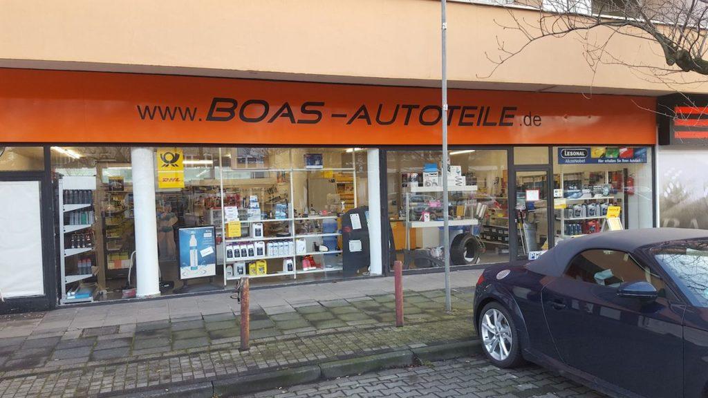 Autoteile Boas Langenfeld Aussenansicht