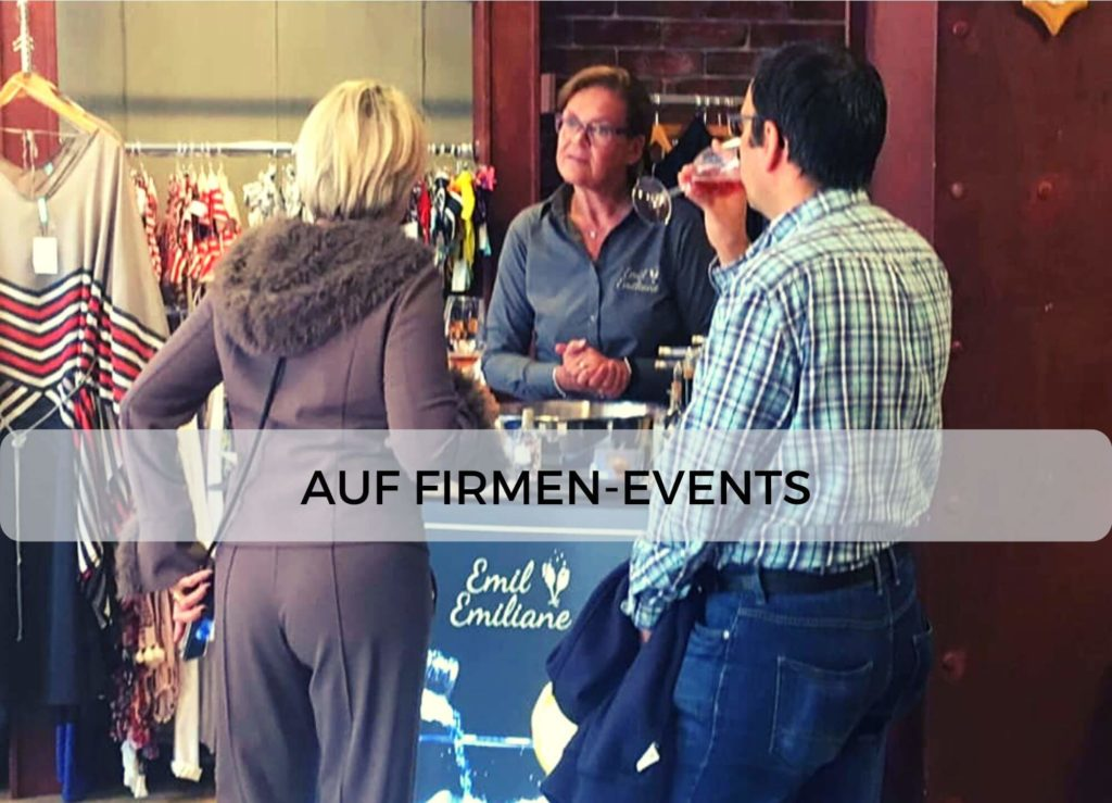Emil & Emiliane Firmen Events Tastings Private Feiern in Langenfeld - Beispiel Firmenevent