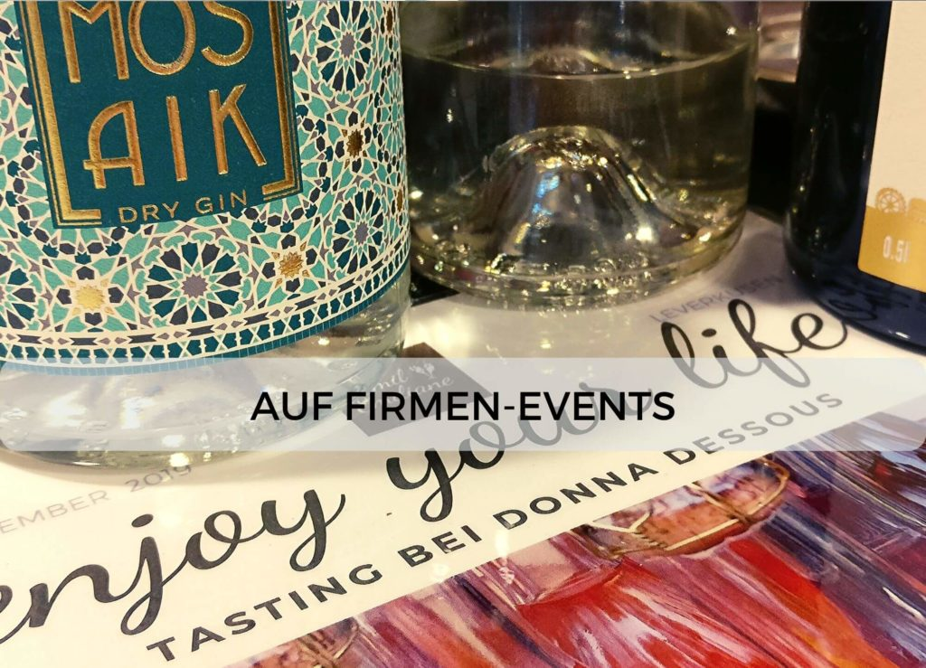 Emil & Emiliane Firmen Events Tastings Private Feiern in Langenfeld - Event