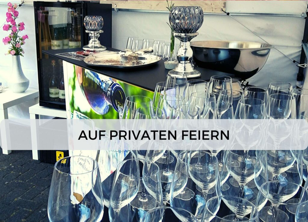 Emil & Emiliane Firmen Events Tastings Private Feiern in Langenfeld - Privatfeier