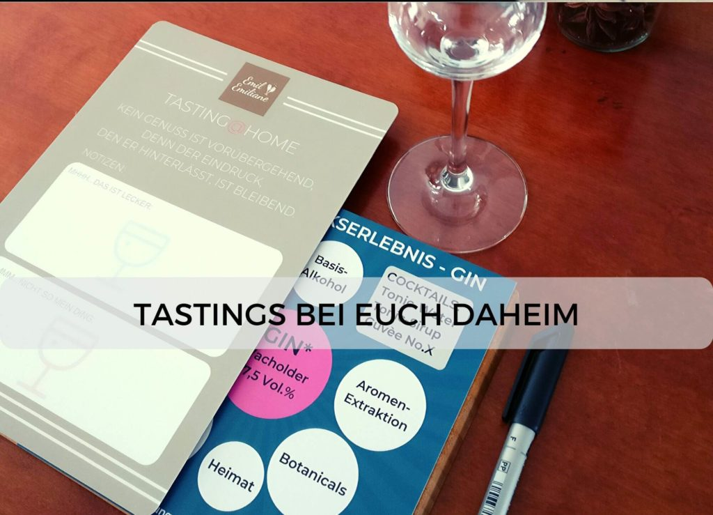 Emil & Emiliane Firmen Events Tastings Private Feiern in Langenfeld - Tasting daheim