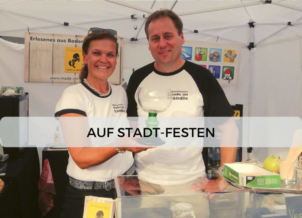 Emil & Emiliane Firmen Events Tastings Private Feiern in Langenfeld - Stadtfest