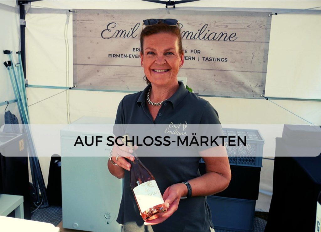Emil & Emiliane Firmen Events Tastings Private Feiern in Langenfeld - Schlossmarkt