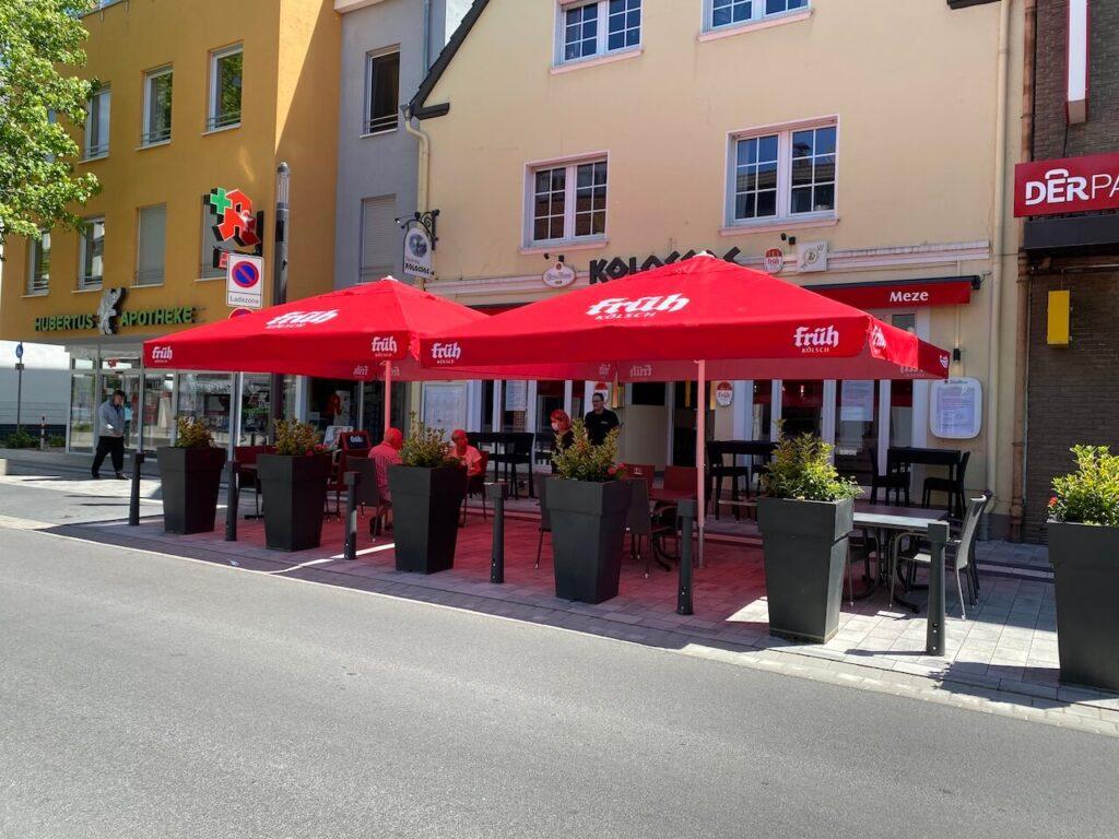 Taverna Kolossos - mediterrane Küche Langenfeld - Aussenansicht
