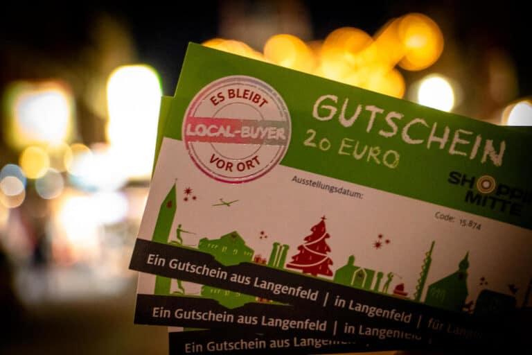 Gutschein aus Langenfeld