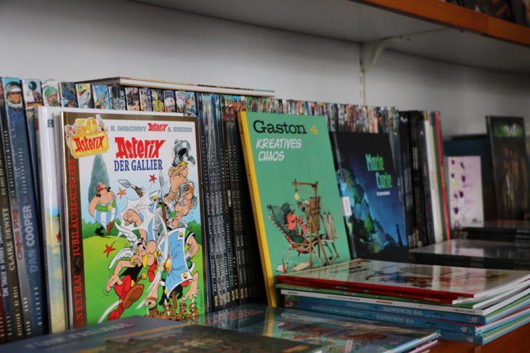 Bücherecke Hiltrud Markett Langenfeld Comics