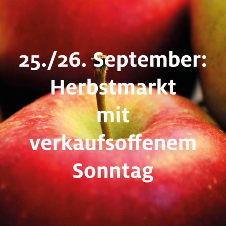 Herbstmarkt 2021
