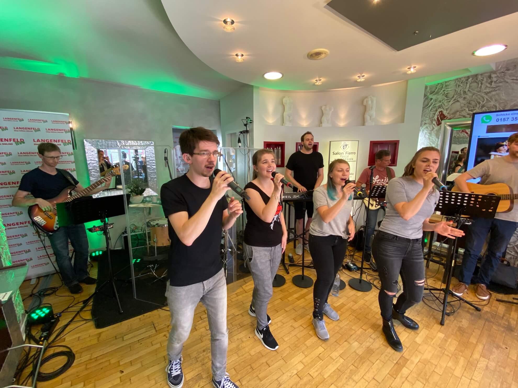 Langenfeld Live The JoySingers Langenfeld Live