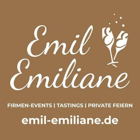 Emil & Emiliane Firmen Events Tastings Private Feiern in Langenfeld - Logo